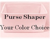 NEW ...TALL Purse Insert Shaper... Protector ... No Pockets .....Canvas..  . ..Your color choice .......6 tall sizes