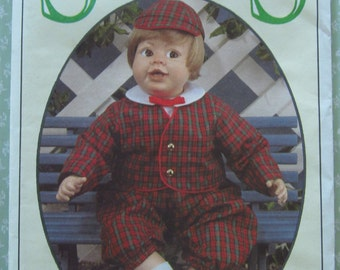 Syndee's Crafts Eton Charlee Doll Clothes Pattern UNCUT Vintage 1990's