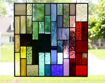 Stained Glass Panel/Suncatcher