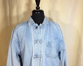 Denim Jacket, Denim Chore Coat, Vintage Denim, Sostanza Denim, Jean Jacket