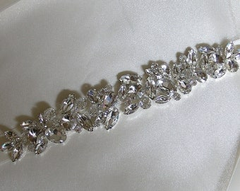 Bridal Headpiece, Wedding Headpiece, Bridal Crystal Tiara, Rhinestone Wedding Headband, Crystal Headband, Jeweled Bridal Headband, No. 6010