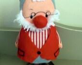 Vintage Gnome/ doll/ ornament