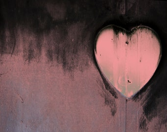 Surviving Heart in Pink Fine Art Photo