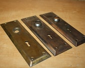 Vintage Metal Door Plates - item #1849