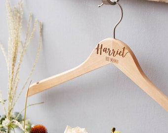 Mum's Personalised Coat Hanger