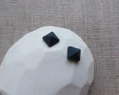 Pyramid Cut Jewel Stud Earrings since2011