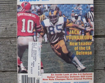 football digest january 1978 special rating of all nfl quarterbacks 1970s football man cave collectible