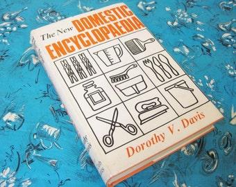 Vintage 1968 The New Domestic Encylopaedia Book 1960's Homeware Retro