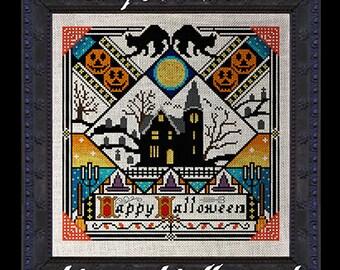 Happy Halloween! PDF Cross Stitch