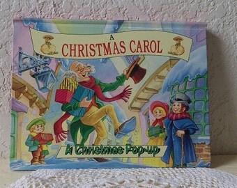 Pop-Up Book:  A CHRISTMAS CAROL, 1995