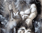 Thor (Original Drawing)