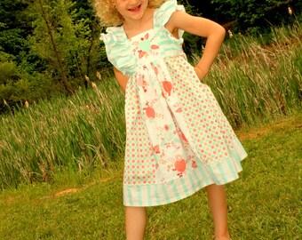 Girls Dress - Toddler Dress - Girls Easter Dress - Spring Dress, Girls Clothing - Boutique Dress - Children's Matching Outfits - Sibling Set