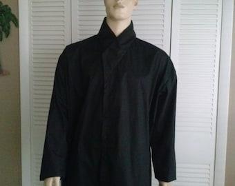 Star Wars Jedi Knight Black Under Tunic Sz. XL - XXL Tall Handmade