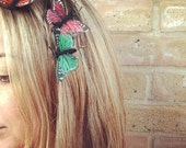 Autumn Butterfly Hair Grips - 5 colours to choose from