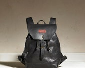 Sandy Rucksack - Black Leather
