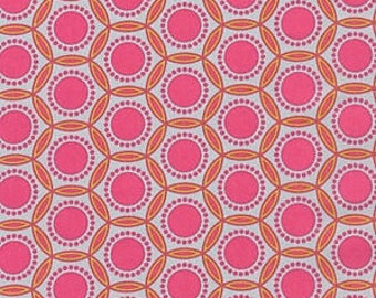 Joel Dewberry - Heirloom - Opal in Blush - cotton quilting fabric - by the YARD cut