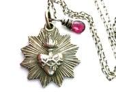 Sacred Heart Necklace, Ex Voto