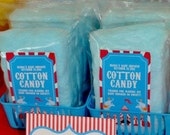 26 Blue Cotton Candy with Label