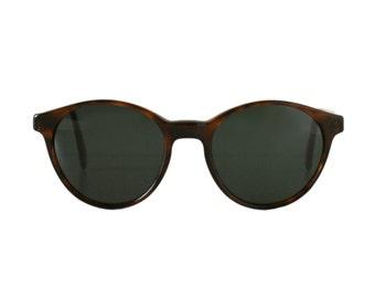 Brown Sunglasses - Arizona Castor round vintage sunglass