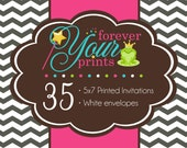 35 Professionally Printed 5 x 7 Cards - PRINTING SERVICE