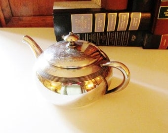 1938 Louisana Kennel Club Trophy Silver Teapot, Dog Show Trophy, Best in Show, Vintage Silver Plate Trophy, Wire Terrier, Kennel Dog Show