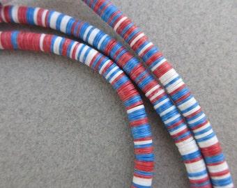 Mixed African Vinyl Beads