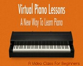 Piano Class Video Course For Beginners