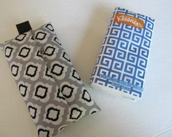 Tissue Case/Quatrefoil
