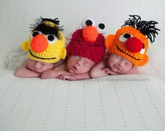Newborn Bert OR Ernie hat