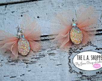 Ballerina Tulle Earrings