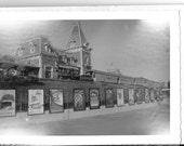 Vintage Original 1950's Disneyland Photo Book - Set of Seven Black And White Photos