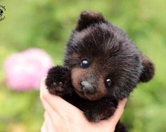 Bear cub Kuzya (made to order)