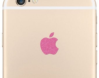 Sparkling Pink 7 Plus and 6 Plus Logo Decal