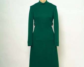 Vintage Dress / 60s Dress / Mod Dress /Women's clothing / 60s dress / Party Dress /  Mad men / Green dress / 1960s / Retro dress / Vintage