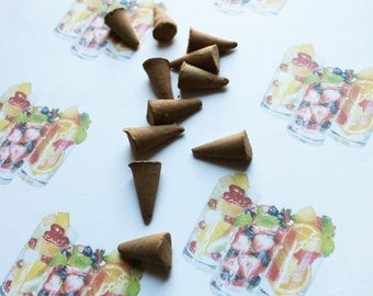 Fruit Cocktail Scented Cone Incense - Incense Cones - Aromatherapy - Aroma - Essense - Home Decor - Gift for Adults