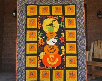 Sale - Halloween Quilt