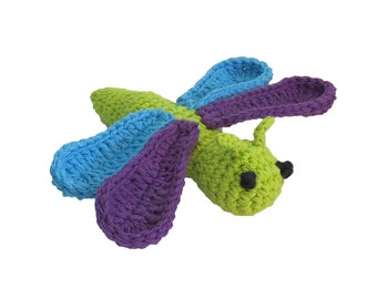 Catnip Dragonfly - Choose Your Colors - Catnip Toy