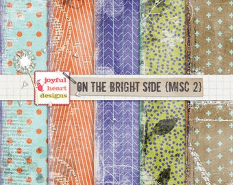 On the Bright Side {misc 2}- instant download, blog design, web design, photography textures, DIY projects, printable, digital scrapbooking