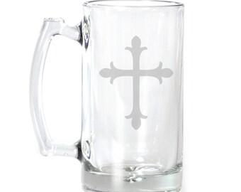 Large Beer Mug - 25 oz. - 2117 Cross