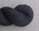 Lace Weight Cashmere Recycled Yarn, Navy Blue, 730 Yards, Lot 030216