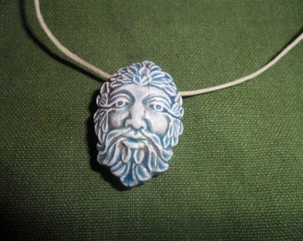 Raku Greenman necklace