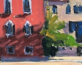 Campo in Venice Italy Painting Original