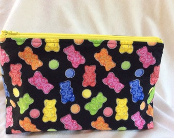 Gummy Bear Cosmetic Makeup Bag