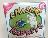 40% OFF Vintage 1991 Chasing Rabbits Musser Film Partners The Game of Friendly Pursuit Board Game Unopened Surf California Collectible RARE