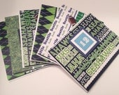 Set of Six Seahawks Blank Note Cards Set Two