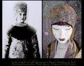 1920s Headband,Flapper Headband,Art Deco Headband,Bohemian Headband,1920s Headpiece,Gypsy Headband,Flapper Headpiece,Burlesque Headband