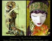 Flapper Headband,Bohemian Accessories,1920s Headband,Bohemian Clothing,Art Deco Headband,Flower Headband,Roaring 20s Headband