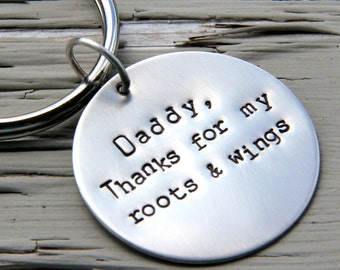 Daddy Gift - Father of The Bride - Father of the Bride Gift - Wedding Gift For Dad - Daddy Wedding Gift - Father Gift - Daddy Keychain
