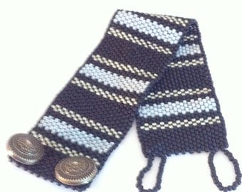Handmade Men's PEYOTE Bracelet/Cuff