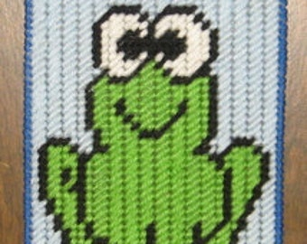 Frog Valance Plastic Canvas Pattern